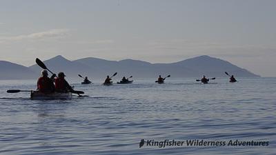 Kayaking Haida Gwaii - Kayaking in Gwaii Haanas National Park